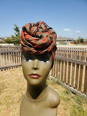 Lilac Head wrap; Lilac African Headwrap; African Clothing; African Fabric