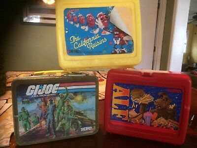 Lunch Boxes, Vintage themes, Lot of 3