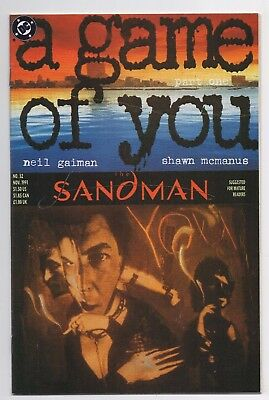 DC Comics The Sandman #32 A Game of You Part One Copper Age
