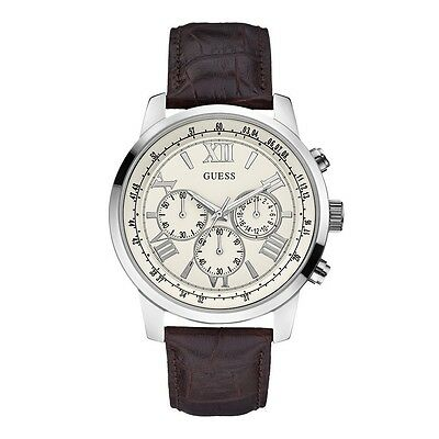 New Brand GUESS MEN'S HORIZON CHRONOGRAPH WATCHW0380G2