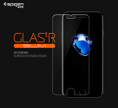 Spigen Glas tR TEMPERED GLASS 9H Screen Protector 2Pack For iPhone 8 8 Plus Film