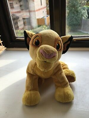 GENUINE DISNEY STORE UK -  LARGE SIMBA Soft Plush Toy from The Lion King 2 Foot