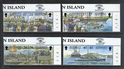 Alderney 2001 Island Garrison--Attractive Military History Topical (176-83) MNH