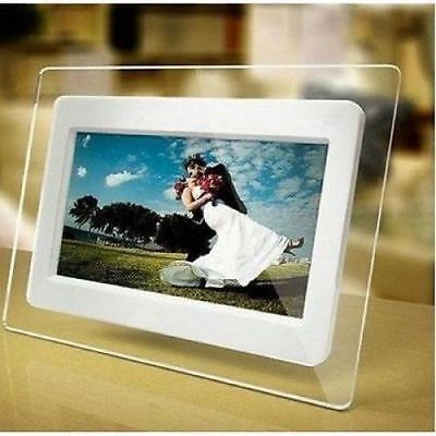Electronic Picture Frame Digital Photo Display True Color LCD 7 Inch w/ Calendar
