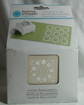 NIP Martha Stewart Punch all over the page Crochet Flower pattern