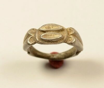 Massive Roman Style Silver Finger Ring  - Wearable