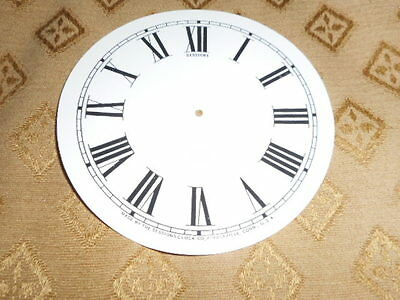 For American Clocks-Round Sessions Paper Clock Dial-125mm M/T- Roman-Clock Parts