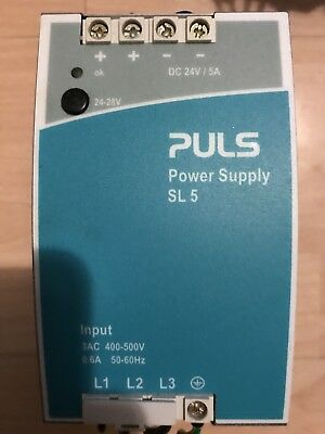 Puls SL5.300 - DIN-Rail Power Supplies for 3-phase Systems24V, 5A