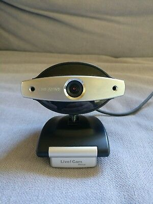 Creative Live! Cam Voice Webcam Camera with microphone USB Great Condition