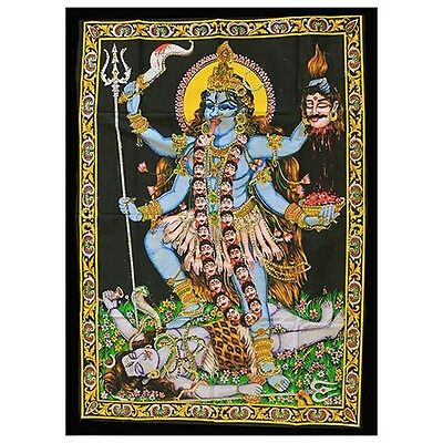 Indian Cotton Wall Art Print with Sequins  77cm x 107cm  9 Designs