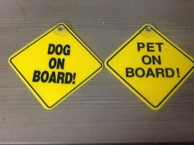 pet on board dog on board signs