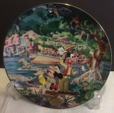 Disney 40Th Anniversary Plate Collection: # 11: Jungle Cruise