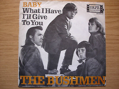 THE BUSHMEN Baby /What I Have I'll Give To You DeutscheAriolaColpix RARE US-BEAT