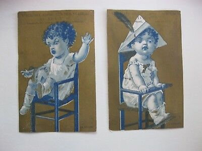 Victorian Trade Card 1800s Peerless Carmels Day's Baby's High Chair  40