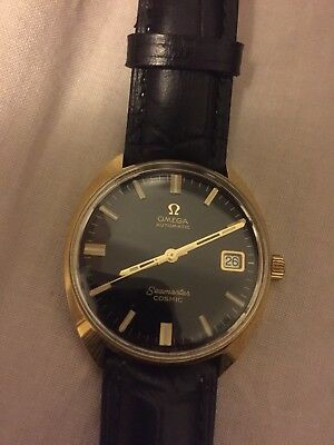 Omega Montre Watch Seamaster Cosmic Automatic Black
