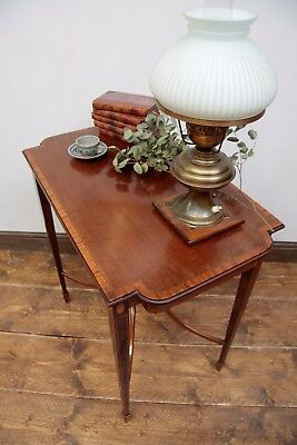 Antique Victorian Mahogany Side Table Console
