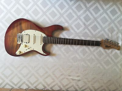 Cort g210 ft flamed maple