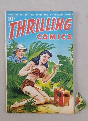 THRILLING COMICS No 68 -  1948  Great Cover Cool Stories!