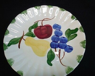 6 Blue Ridge  Bountiful Dinner Plates