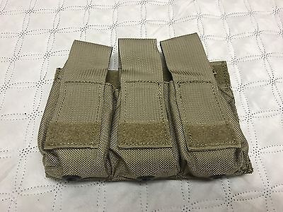 London Bridge Trading Triple Pistol Mag Kydex Insert Pouch LBT Coyote NWOT