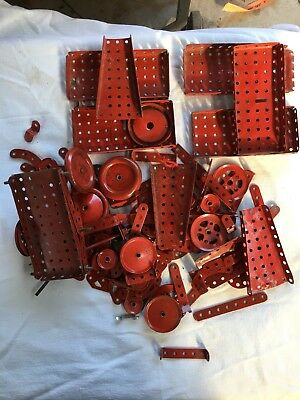 Vintage Meccano assorted pieces