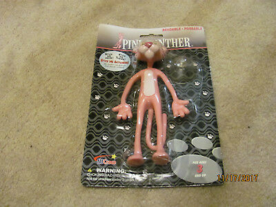 NEW PINK PANTHER Bendable Poseable Figurine in Sealed Package -NEW Figure
