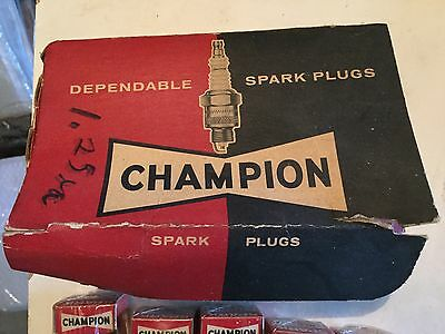 New old stock –  CHAMPION SPARK PLUGS L-4J - GROUP OF 5