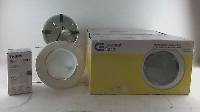 Mixed Lot of 3 Commercial Electric 5 in. White Recessed Shower Kit CER5R532WHP