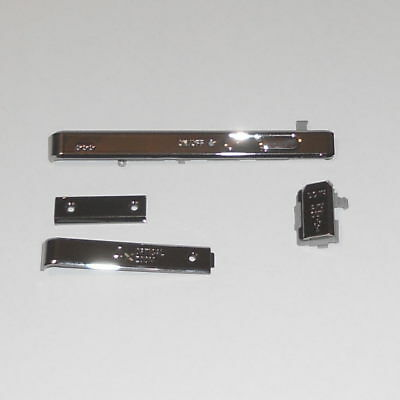 Genuine Sony Cyber-Shot Dsc-S980 4 Silver Chrome Trim Replacement Parts