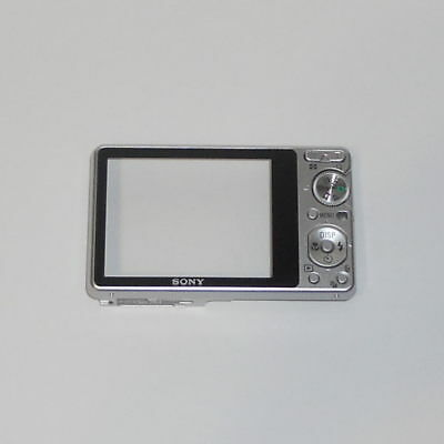 Genuine Sony Cyber-Shot Dsc-S980 Silver Rear Case Cover Replacement Part