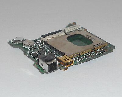 Genuine Sony Cybershot Dsc-S980 Usb & Sd Card Main Board Replacement Part