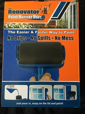 THE RENOVATOR PAINT RUNNER PRO GENUINE ITEM  As seen on TV SAME DAY EXP POST**
