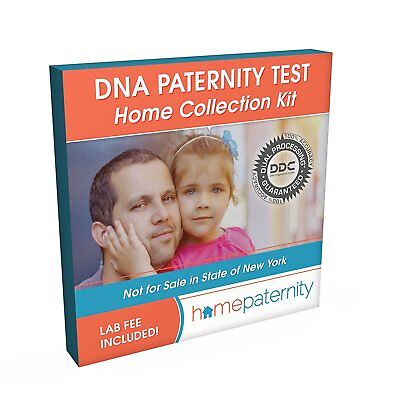 DNA Diagnostic Center Accurate Home DNA Paternity Test 99.5% Accurate & Easy Use