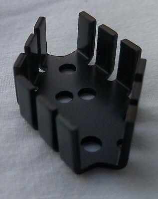 20 Pieces TO-66 Heat Sink Black Anodized Aluminum