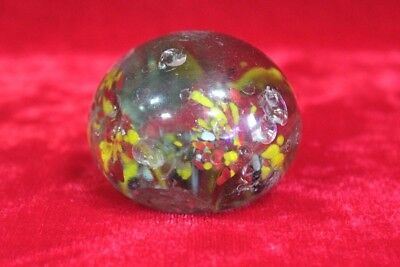 1850's Old Vintage Antique Solid Glass Paper Weight Decorative PK-38