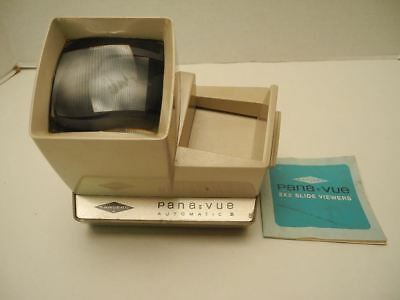 Vintage Sawyers Pana-View 2573 Light 2x2 Slide Viewer with Instructions
