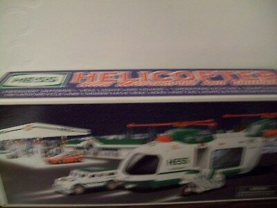 Hess Helicopter With Motorcycle And Cruiser New In Box