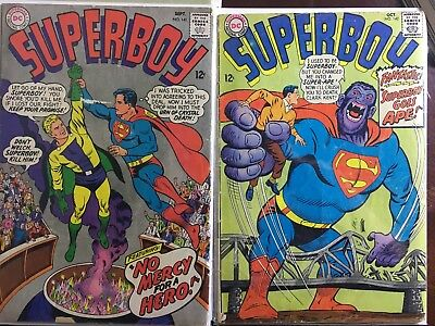 Super boy Christmas 2-Pack! Issues 141 and 142 both VG silver age DC