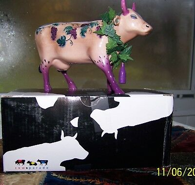 Fine Wine Bovine Cow Parade figurine 7324 Westland box no tag