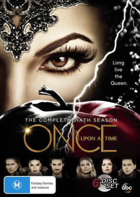 Once Upon a Time Season 6 BRAND NEW SEALED R4 DVD