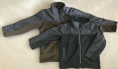 Kids / Child Lightweight Performance Warmth Fleece Full Zip Jacket Size 4,5,6,7