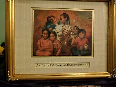 home and garden party pictures - Jesus loves the little children