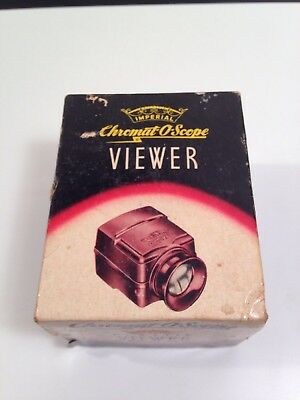 VINTAGE IMPERIAL CHROMAT-O-SCOPE plastic viewer