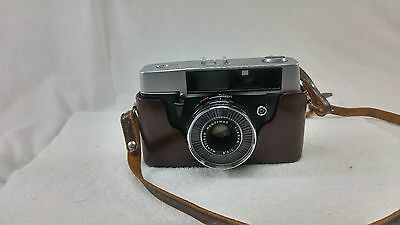 Vintage Mansfield Eye-Tronic Film Camera with Mantinar lens,untested parts only