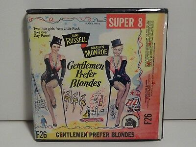 Gentlemen Prefer Blondes Super 8mm Film Marilyn Monroe Jane Russell reel to reel