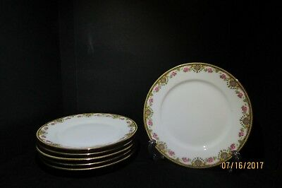 6 Wm Guerin Limoges Bread and Butter Plates