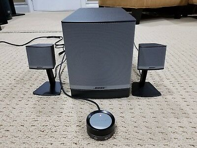 Bose Companion 3 Series II Multimedia Computer Speaker System w Subwoofer