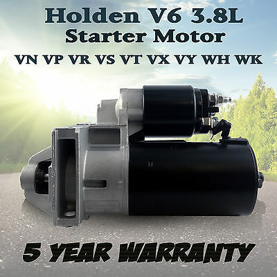 Starter Motor for Holden Commodore VT VX VY VN VP VR VS V6 3.8L AUTO