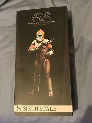Star Wars 1/6 Scale Sideshow Exclusive Bomb Squad Clone Trooper Ordnance Special