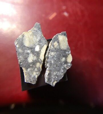 Meteorite**Lunar Breccia, NWA**0.28 Grams!!! Museum Quality Thin Slices